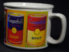 Campbell's Soup Mug Andy Warhol Condensed Soup Can Houston Harvest 1998 Original