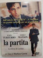 La partita. La difesa di Luzhin (2001)  (Custodia Cartonata - DVD) Nuovo