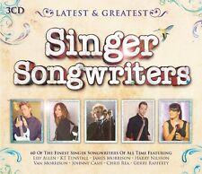 SINGER SONGWRITER-LATEST & GREATEST 3 CD NEU