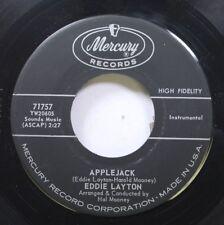 Hear! Novelty Instr. 45 Eddie Layton - Applejack / Ring Of Gold Forever On Mercu