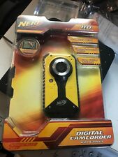 Nerf Pocket Digital Camcorder Yellow 720P 5.1MP 38056 Rubberized Design Bare