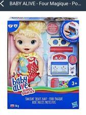 Hasbro Poupee baby alive,four Magique  ,elle fait caca !!!! Il faut la changer !