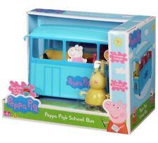 Peppa Pig Miss Rabbit's School Bus Playset Nuevo Y en Caja Envío Rápido