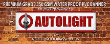 AUTOLITE SPARK PLUGS WATERPROOF 550GSM GRADE PVC BANNER.GARAGE,WORKSHOP BANNER
