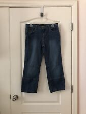 Women's Baby Phat Capri Blue Jeans Size 9 Free Shipping 457