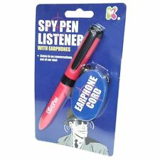 SPY PEN LISTENER TOY WITH EARPHONES - SC127 SECRET DEVICE CHILDRENS TOY COVERT