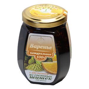 Pine Cone Jam Orange Zest Healing Restoring Refreshing Natural Ingredients Eco