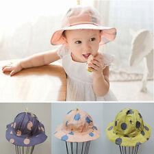 Children Toddler Sun hat Bucket Caps Fishing Camping Beach Hat Boys Girls Kids