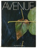 AVENUE Magazine MAY 1989 Exclusive Vintage RARE (Fashion, News, Arts, Lifestyle)