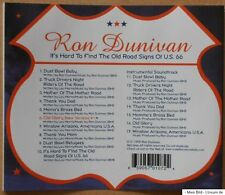 Ron Dunivan - It's Hard To Find The Old Road Signs of U.S. 66 - CD