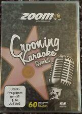 Zoom Karaoke DVD crooning Karaoke DVD 2 DISQUES 60 Tracks DVD