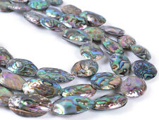0714 26-29mm Abalone shell oval loose gemstone beads 16""