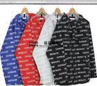 Supreme 16FW 3M Reflective Repeat Taped Seam Waterproof jacket Hot sale