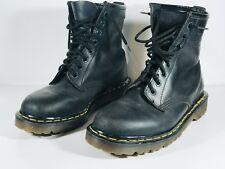 Dr Martens 1460 W 8-Eye Classic Boot Matte Black Unisex Mens Size 7 Women Size 8