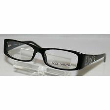 Authentic Dolce & Gabbana DG 1103-b 501 Black 52mm Frames Eyeglasses RX