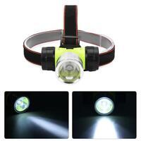 Durable Lampe frontale torche étanche LED Phare Brillant de plongée sous-marine