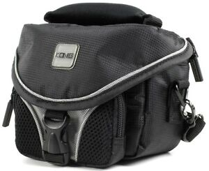 HQ CAMBAG130 DIGITAL VIDEO CAMERA CAMCORDER PADDED BAG CASE, COMPARTMENTS, STRAP