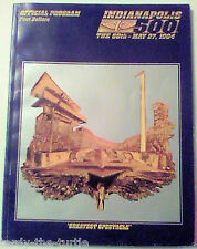 The 68th Indianapolis 500 Official Program May 27, 1984 Indy 500 Indycar