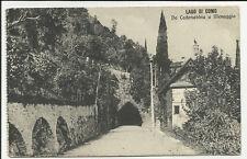 antica cartolina lago di como da cadenabbia a menaggio  galleria