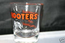 NEW Hooters Shotglass  Chicago The Windy City
