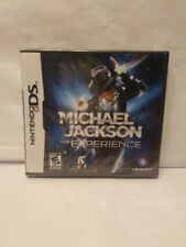 Michael Jackson The Experience concert Nintendo DS game 2010 MJ