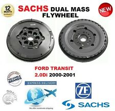 FOR FORD TRANSIT 2.0 Di 100bhp 2000-2001 SACHS DMF DUAL MASS FLYWHEEL with BOLTS