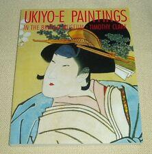 Ukiyo-e paintings in the British Museum -- Timothy Clark