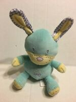 "Super Art Toys Blue Rattle Puppy 9"" Plush Stuffed Animal"