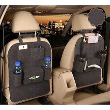 Car Back Seat Storage Organizer Trash Net Holder Travel Storage Bag Hanger Pouch