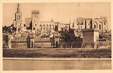 BF10397 le palais des papes vu de la rive droite avignon france         France