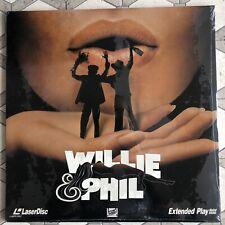 Willie & Phil - LaserDisc Sealed - New Old Stock