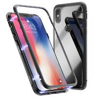 Magnet Cover Case für Xiaomi Mi 8 Aluminum Kunststoff Glänzend