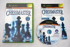 Chessmaster (Microsoft Xbox, 2004): COMPLETE in BOX ~ Game Manual Case ~ Nice