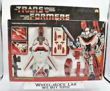 Jetfire MIB 100% Complete 1985 Vintage Hasbro Action Figure G1 Transformers