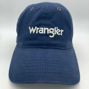 Wrangler Mens EST 1947 Blue Adjustable Strap Baseball Hat Cap One Size Fit All