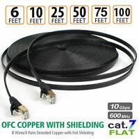 Cat7 Ethernet Kabel DSL LAN RJ45 Netzwerk Lan Patchkabel für Router Laptop DE
