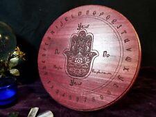 Hamsa Pendulum Board - Purpleheart