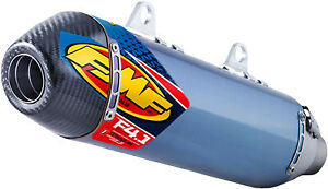 FMF Racing Exhaust Factory 4.1 RCT Slip-Ons Anodized Titanium 045586 27-0457