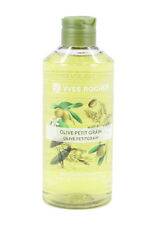 Yves rocher Relaxing ,Bath & Shower gel New 400 Ml Olive Petitgrain 2 Pack