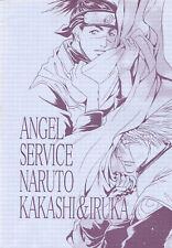 LOt de 2 Mangas - angel service naruto Kakashi et Iruka - comme neuf - JAPAN