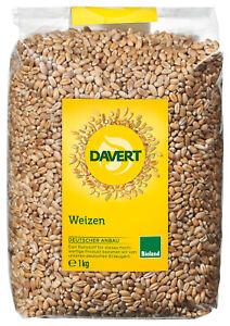 Bio Weizen, 1 kg NEU & OVP von Davert