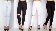 Ripped Regular Size Trousers for Women