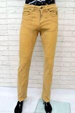 Pantalone Uomo JECKERSON Taglia 31 Jeans Slim Fit Pants Skinny Made in Italy