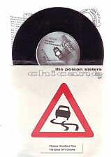 45 tours punk ecosse -- poison sisters - CHICANE ( ep)