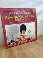 Band Of The Scots Guards Marches Of The British Army 12 Inch Vinyl Record