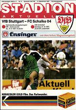 BL 87/88 VfB Stuttgart - FC Schalke 04, 05.09.1987