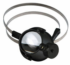 Led 15X Magnifier Eye Loupe w/ Head Band Jewelers Magnifying Glass Watchmakers A