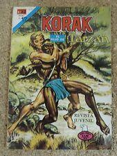 Korak el Hijo de Tarzan,Serie Aguila num.42,Novaro