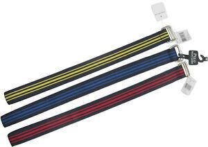 New Polo Ralph Lauren Nylon Grosgrain Belt!   Navy & Red or Navy & Blue Stripes