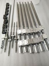 SBR20--600/1500/1500mmRail &RM1605-600/1500/1500/1500mm Ballscrew &BF12/BK12 kit